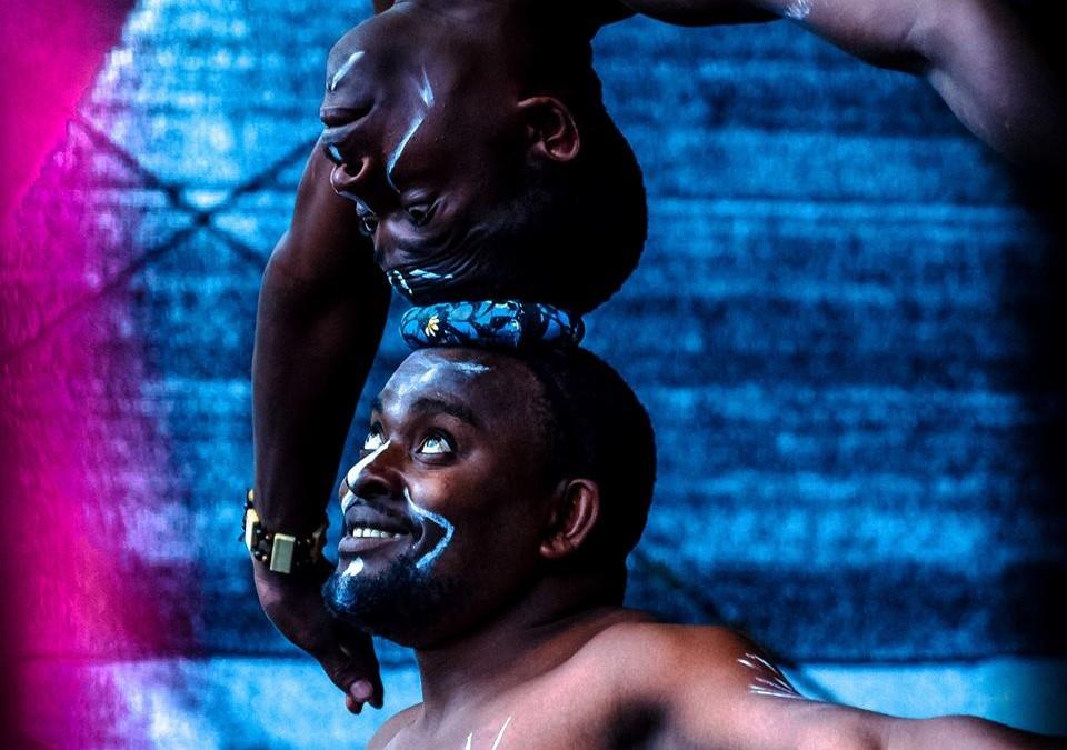 Gostovanje akrobatske skupine iz Afrike