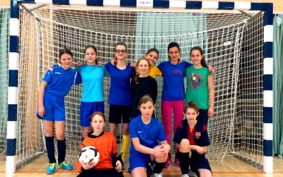 Področno tekmovanje v nogometu za dekleta