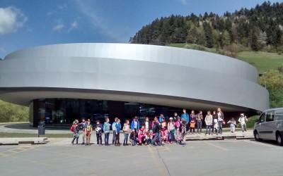Šestošolci v Kulturnem središču vesoljskih tehnologij