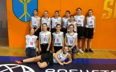 Tretje mesto naših košarkaric na četrtfinalu državnega tekmovanja