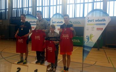 3. mesto na državnem tekmovanju v badmintonu