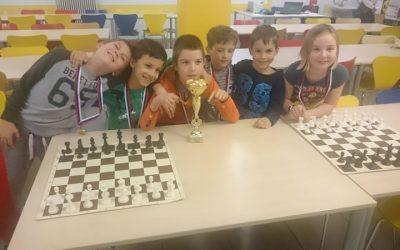 Prvo mesto na šahovskem regijskem tekmovanju in spremenjen termin šahovskega krožka