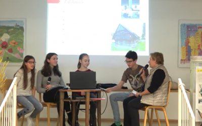 Mladi raziskovalci OŠ Rodica na Srečanjih pod slamniki