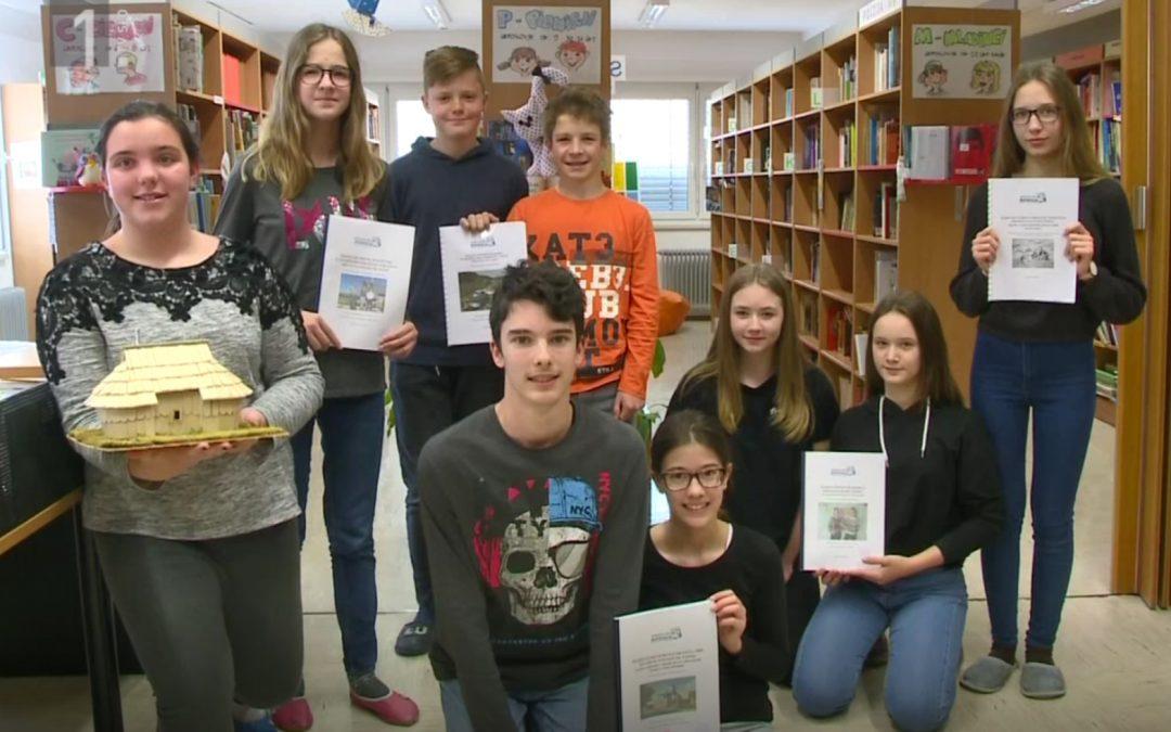 Naši mladi raziskovalci v oddaji Infodrom