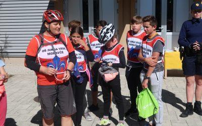Obisk ambasadorjev kolesarstva iz OŠ Jurija Vege Moravče