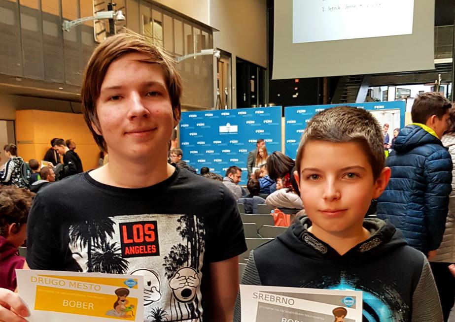 Državno tekmovanje iz računalništva – Bober