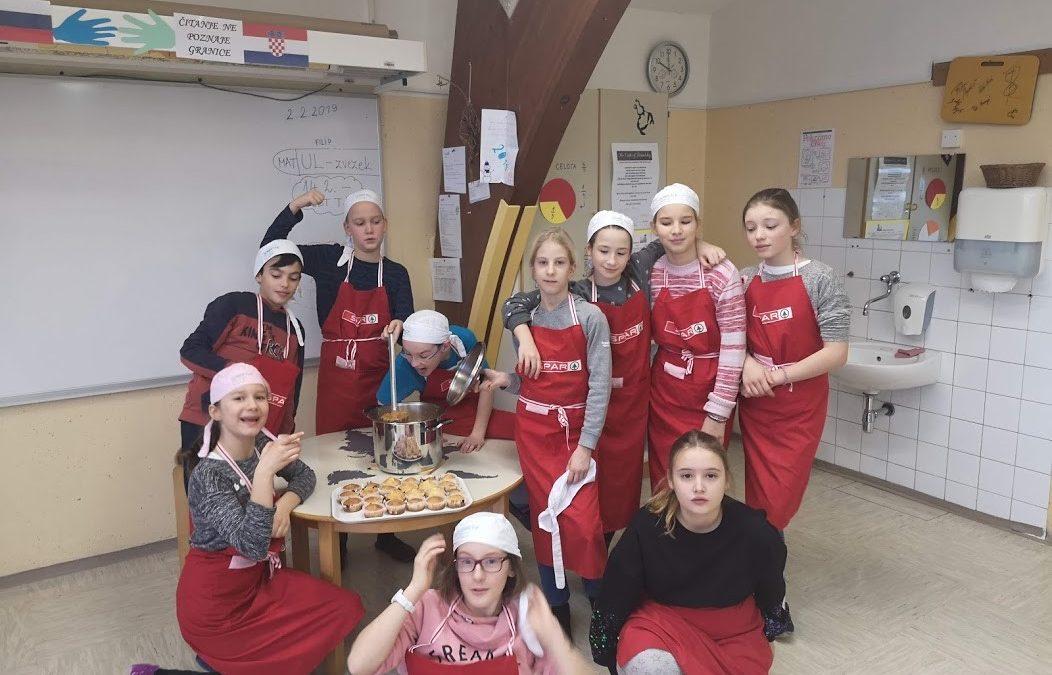 Otroci otrokom skuhajmo zdravo, tradicionalno kosilo