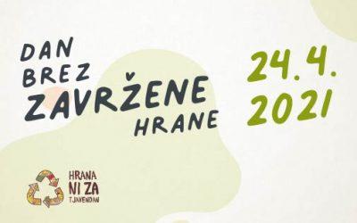 SLOVENSKI DAN BREZ ZAVRŽENE HRANE